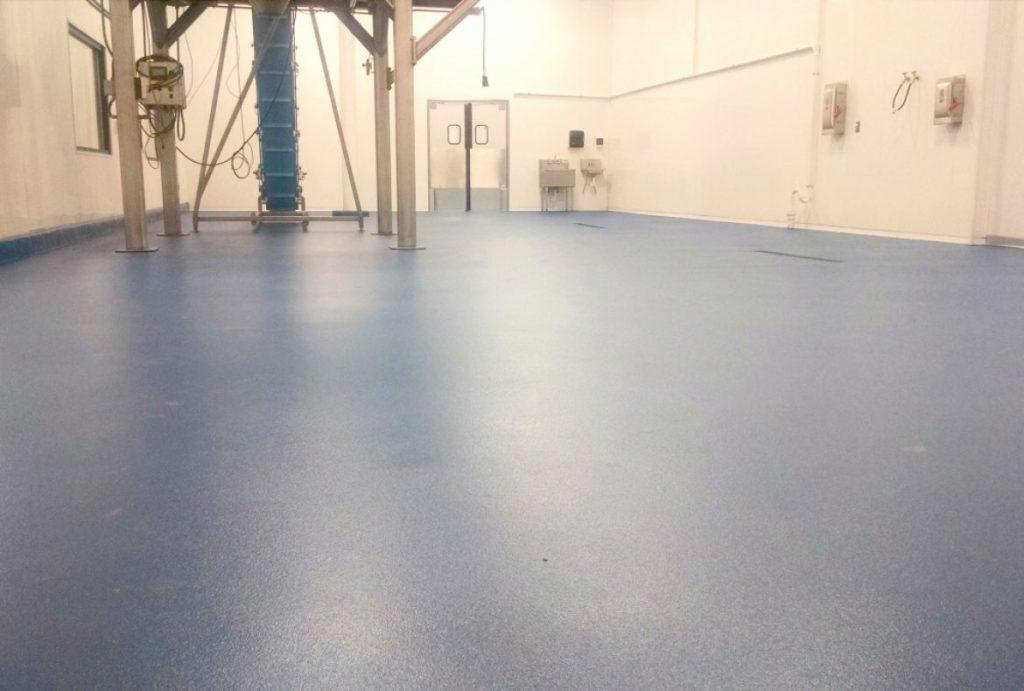 mortar epoxy floor