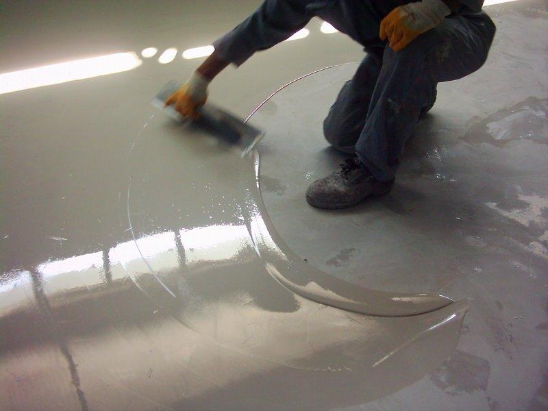 epoxy mortar floor