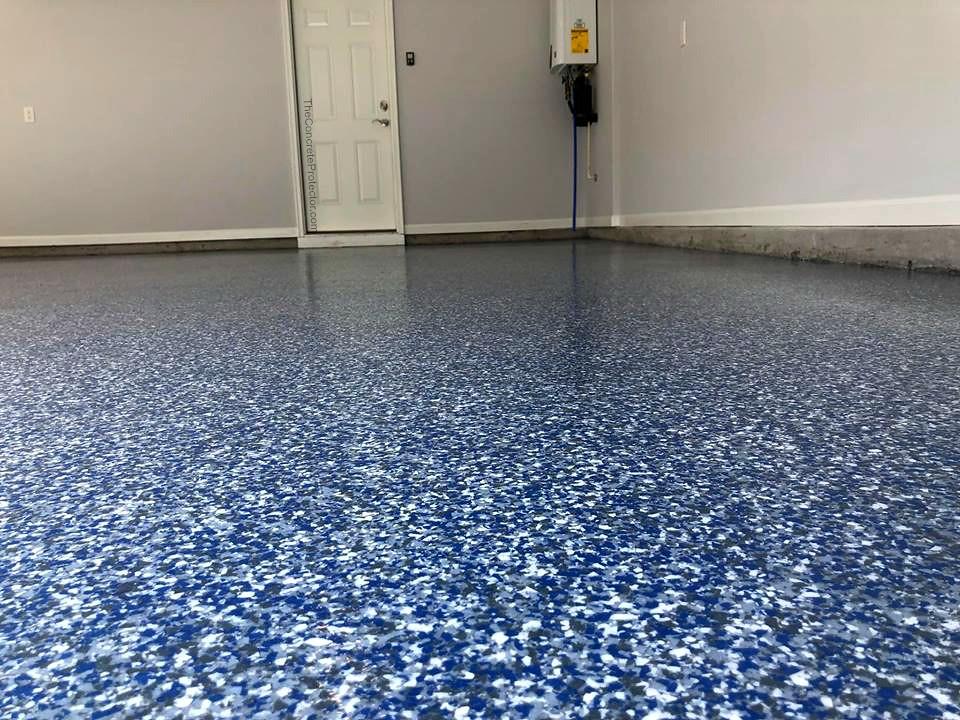 epoxy flake floor